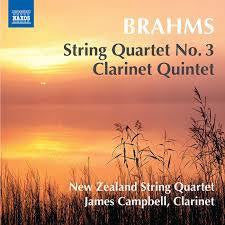 BRAHMS-STRING QUARTET #3 NZ STRING QUARTET CD *NEW*