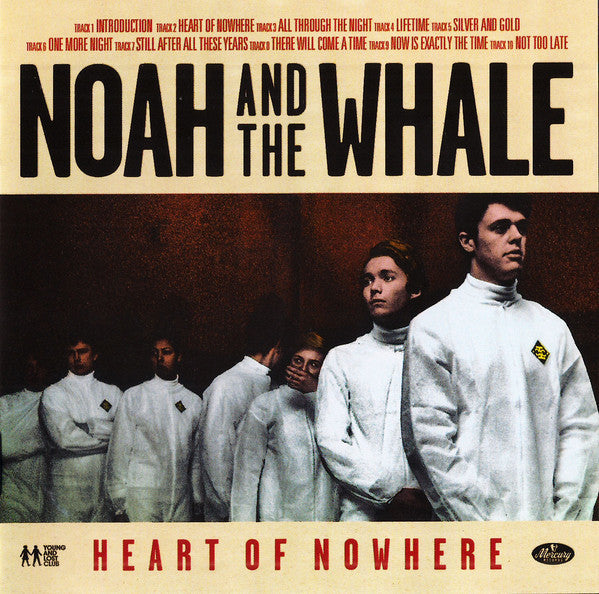 NOAH AND THE WHALE-HEART OF NOWHERE CD VG