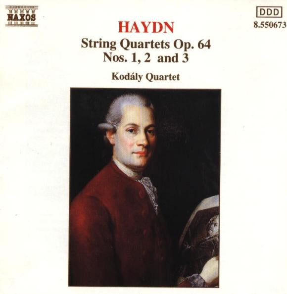HAYDN-STRING QUARTETS OP.64 NOS. 1, 2, AND 3 CD VG