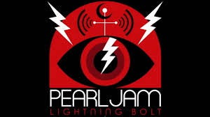 PEARL JAM-LIGHTNING BOLT LP EX COVER EX