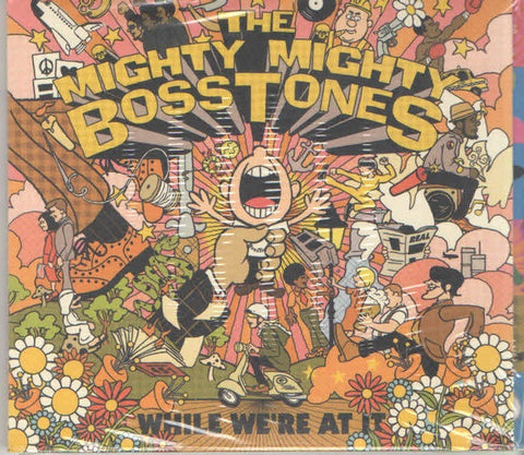 MIGHTY MIGHTY BOSSTONES THE-WHILE WE'RE AT IT CD *NEW*