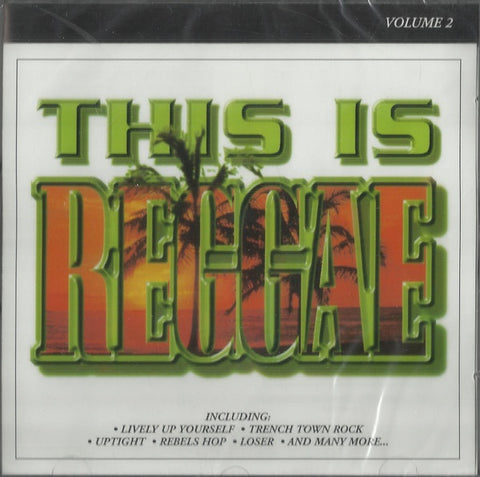 REGGAE ROOTS VOL.2-VARIOUS ARTISTS CD VG+