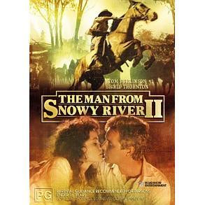 THE MAN FROM SNOWY RIVER II DVD VG