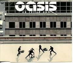 OASIS-GO LET IT OUT CD SINGLE M
