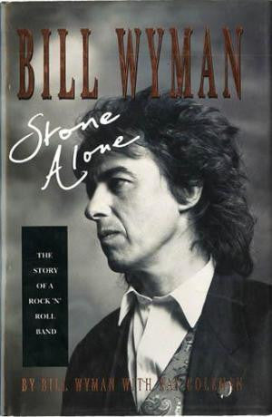 WYMAN BILL-STONE ALONE BOOK VG