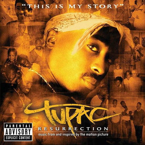 2PAC-RESURRECTION CD VG
