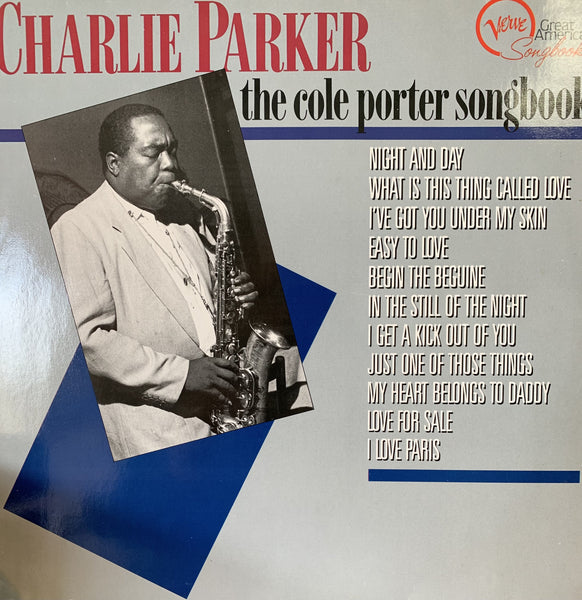 PARKER CHARLIE-THE COLE PORTER SONGBOOK LP VG COVER VG+