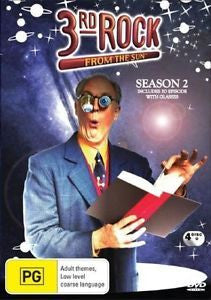 3RD ROCK FROM THE SUN SEASON 2 4DVD G