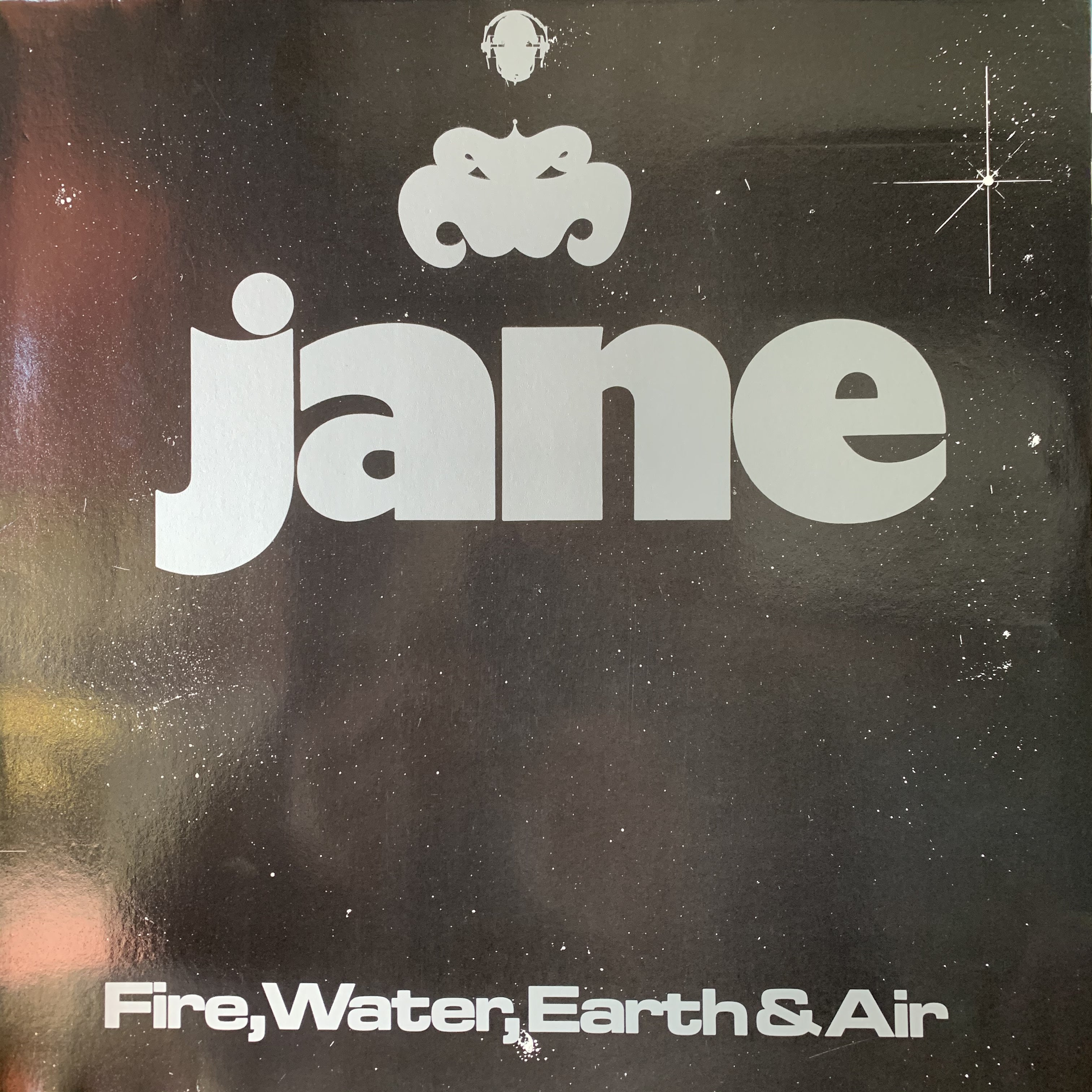 JANE-FIRE, WATER, EARTH & AIR LP NM COVER VG+