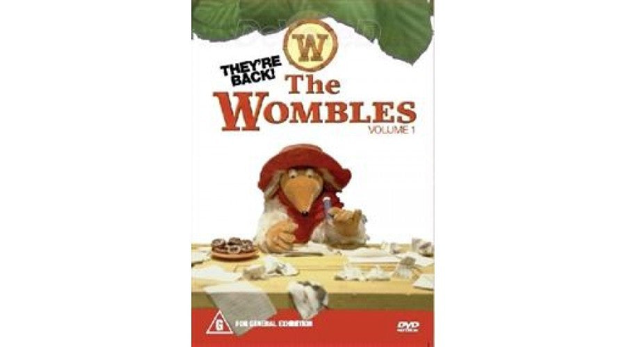 THE WOMBLES VOLUME 1 DVD G