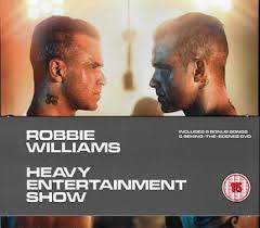 WILLIAMS ROBBIE-HEAVY ENTERTAINMENT SHOW  DELUXE EDITION CD+DVD *NEW*