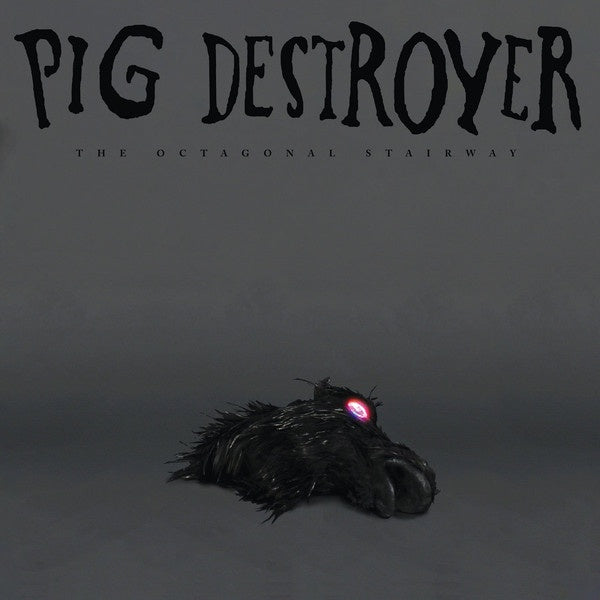 PIG DESTROYER-THE OCTAGONAL STAIRWAY SILVER VINYL 12'' EP *NEW*