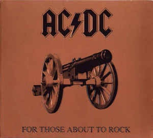 AC/DC-FOR THOSE ABOUT TO ROCK CD VG