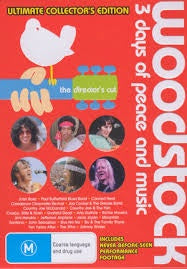 WOODSTOCK THE DIRECTORS CUT 4DVD VG
