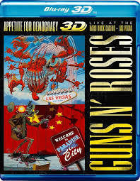 GUNS N' ROSES-APPETITE FOR DEMOCRACY BLURAY *NEW*