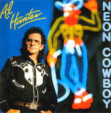 HUNTER AL-NEON COWBOY CD VG