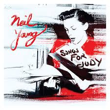 YOUNG NEIL-SONGS FOR JUDY 2LP NM COVER EX