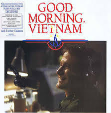 GOOD MORNING VIETNAM-OST VARIOUS ARTISTS LP VG+ COVER VG+