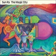 SUN RA-THE MAGIC CITY LP VG COVER EX