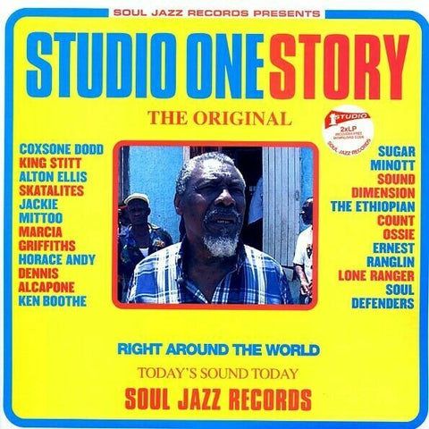 STUDIO ONE STORY-VARIOUS ARTISTS 2LP *NEW*