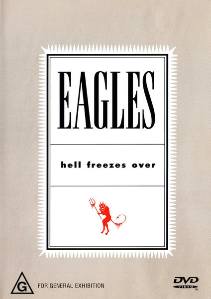 EAGLES-HELL FREEZES OVER DVD VG