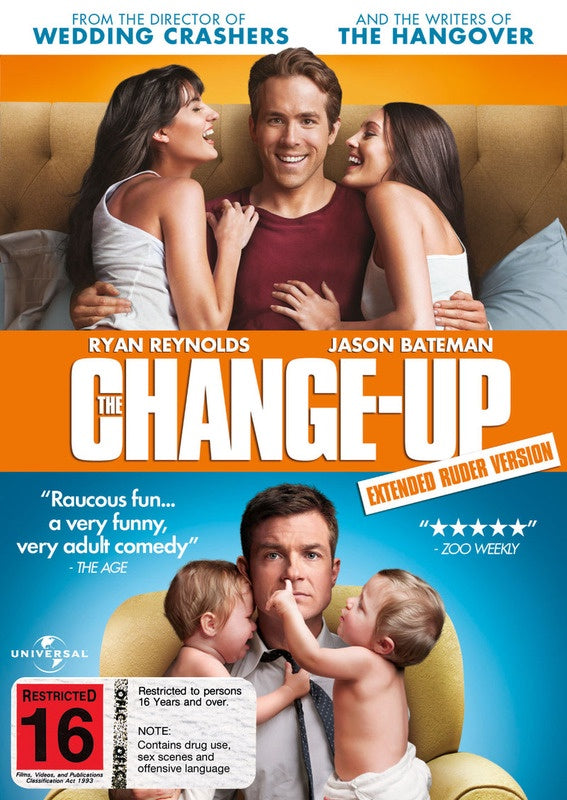 CHANGE-UP THE DVD VG
