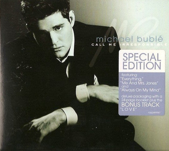 BUBLE MICHAEL-CALL ME IRRESPONSIBLE CD VG