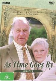 AS TIME GOES BY-SERIES 9 DVD VG