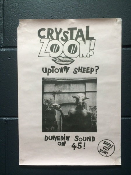 CRYSTAL ZOOM-UPTOWN SHEEP? ORIGINAL PROMO POSTER