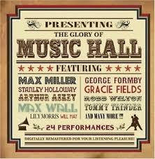 GLORY OF MUSIC HALL THE-VARIOUS ARTISTS CD *NEW*