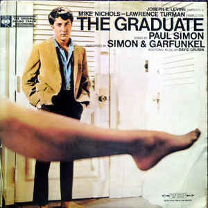 GRADUATE THE-OST SIMON & GARFUNKEL LP VG+ COVER VG+