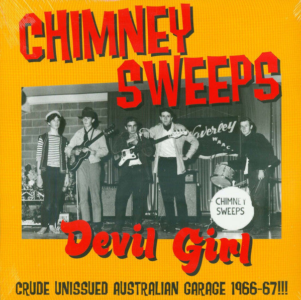 CHIMNEY SWEEPS-DEVIL GIRL LP *NEW*