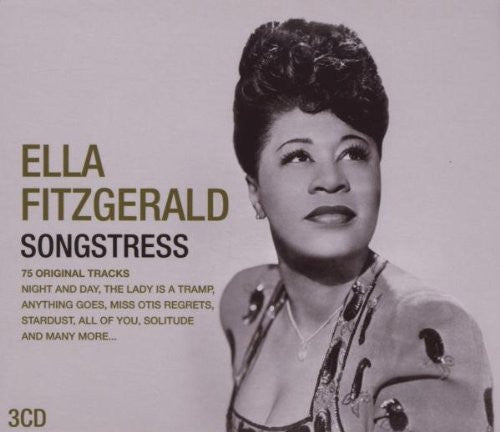 FITZGERALD ELLA-SONGSTRESS 3CD SET VG