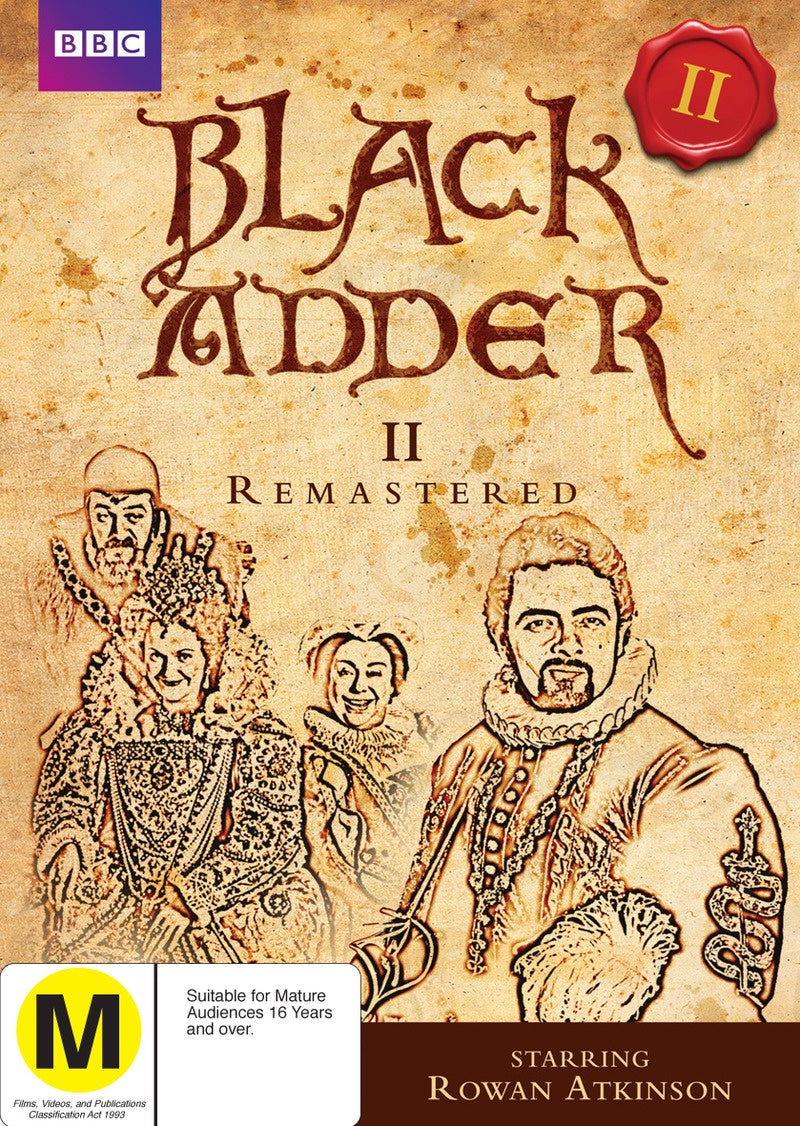 BLACK ADDER-SERIES 2 REMASTERED DVD VG