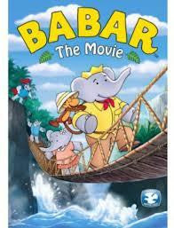 BABAR THE MOVIE DVD *NEW*