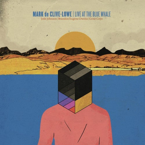 DE CLIVE LOWE MARK-LIVE AT THE BLUE WHALE LP *NEW*