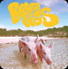 "BEACH PIGS-NO WORK COLOURED VINYL 7"" *NEW*"