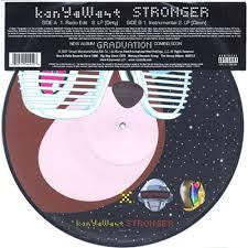 "WEST KANYE-STRONGER 12"" PICTURE DISC NM COVER EX"
