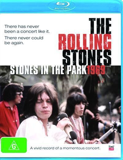 ROLLING STONE THE-STONES IN THE PARK 1969 BLURAY VG