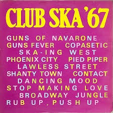 CLUB SKA '67-VARIOUS ARTISTS LP NM COVER VG+