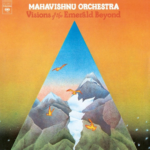 MAHAVISHNU ORCHESTRA-VISIONS OF THE EMERALD BEYOND LP *NEW*