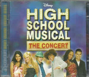 HIGH SCHOOL MUSICAL THE CONCERT CD+DVD *NEW*