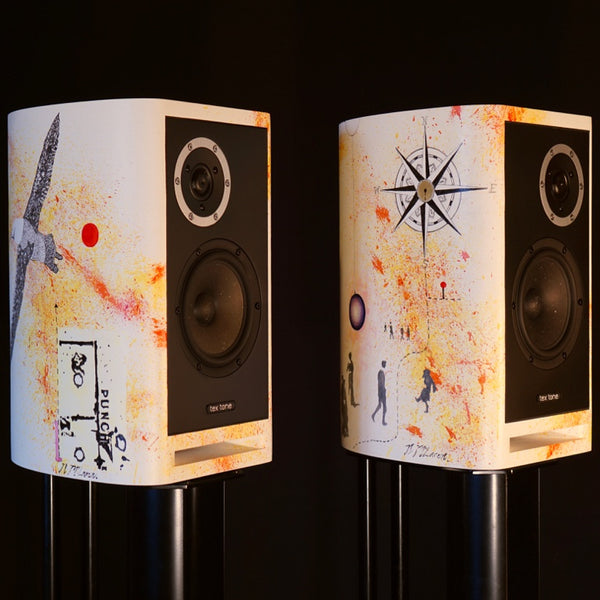 TEX TONE-NICOLA McLAREN ART SPEAKERS  *NEW*
