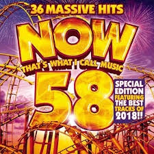 NOW THAT'S WHAT I CALL MUSIC 58-VARIOUS ARTISTS 2CD *NEW*