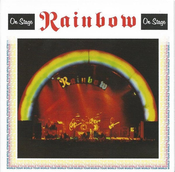 RAINBOW-ON STAGE CD VG+