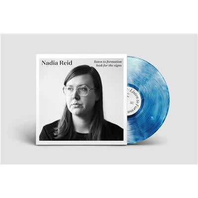 REID NADIA-LISTEN TO FORMATION, LOOK FOR THE SIGNS BLUE VINYL LP *NEW*