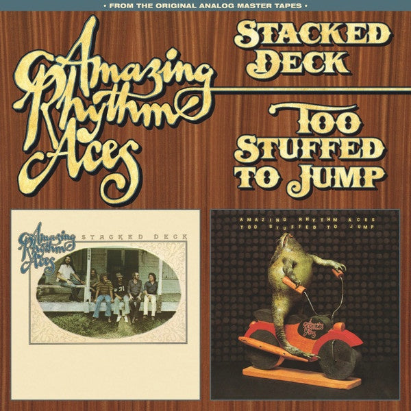 AMAZING RHYTHM ACES-STACKED DECK & TOO STUFFED TO JUMP CD VG