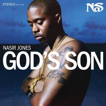NAS-GOD'S SON BLUE/ WHITE SWIRL VINYL 2LP *NEW*