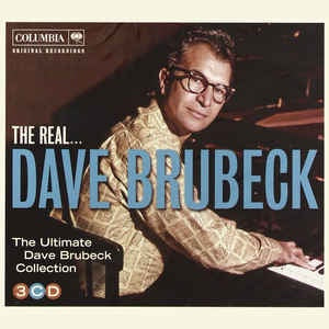 BRUBECK DAVE-THE REAL DAVE BRUBECK 3CD VG