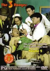 3 STOOGES THE-VOLUME 2 DVD VG
